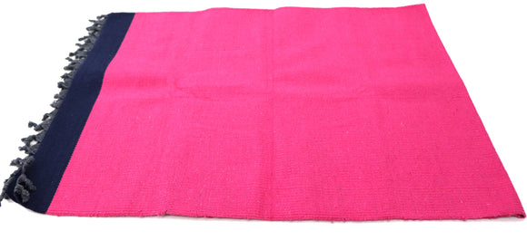 AVI Lifestyle Cotton Yoga mat  (72x30) Pink