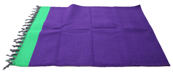 AVI Lifestyle Cotton Yoga mat  (72x30) Violet