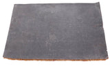Big Coir Doormat with PVC back Blue Cross Lines 30x18 inches