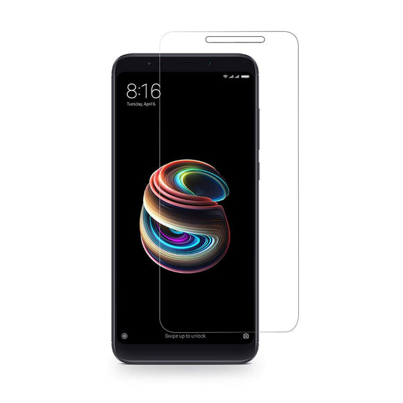 AVI Ultra Clear Tempered Glass Screen Protector Designed for Xiaomi Redmi Note 5