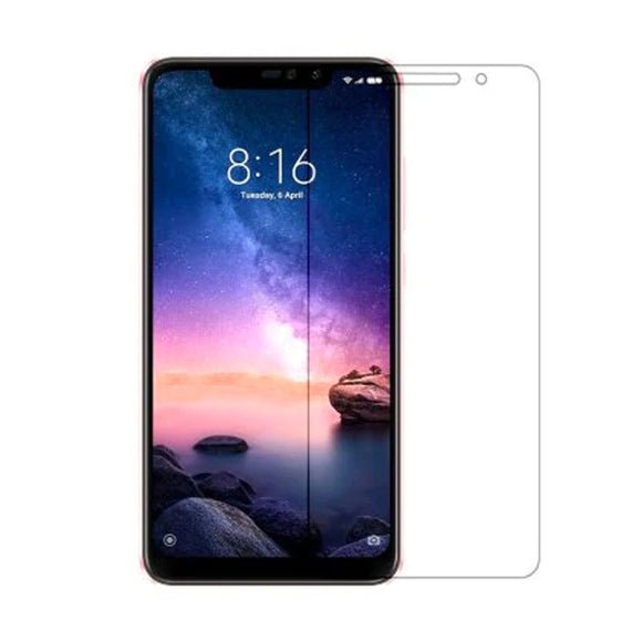 AVI Ultra Clear Tempered Glass Screen Protector Designed for Xiaomi Redmi Note 6