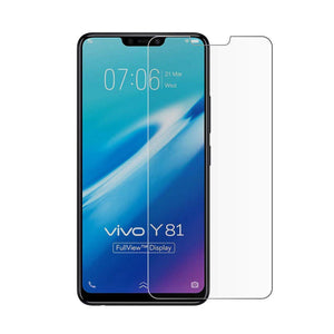 AVI Ultra Clear Tempered Glass Screen Protector Designed for Vivo Y81