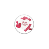Happy Valentines day Single magnet Badge