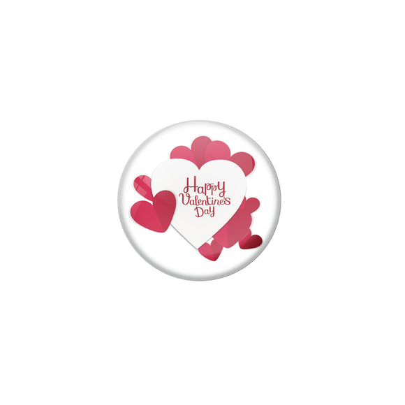 Happy Valentine's day Pin Badge