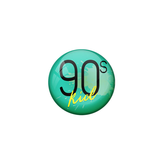 AVI Green Colour Metal Badge 90s kid