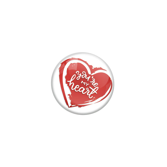 You're my heart Double magnet Badge