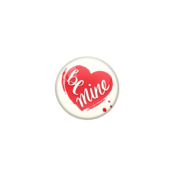 Be mine Double magnet badge