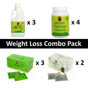 Weight Loss Combo Pack for 1 month