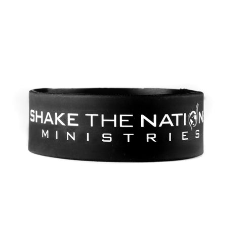 "Shake The Nations 1"" Wristband"