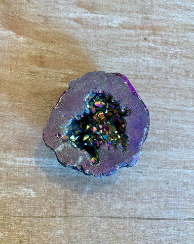Purple Druzy PopSocket