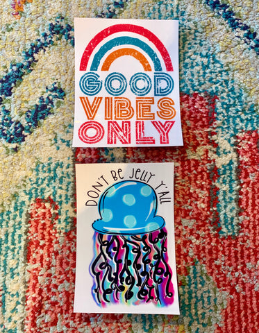 Good Vibes Stickers
