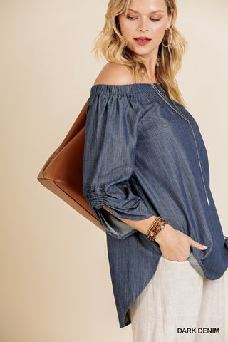 Dawn Denim Top