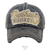 Sunshine and Whiskey Baseball Cap