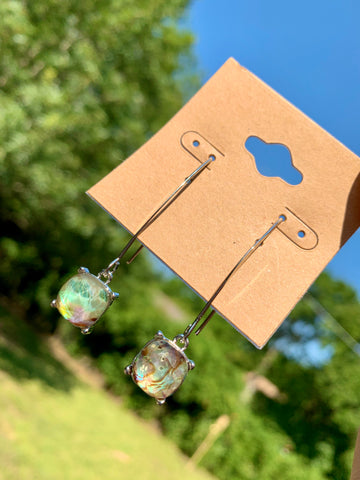 Abalone Gem Dangles