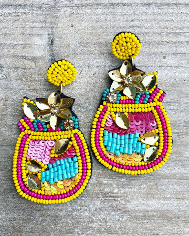 Piña Colada Earrings