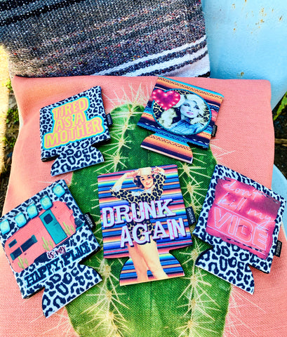 Leopard & Serape Coozies