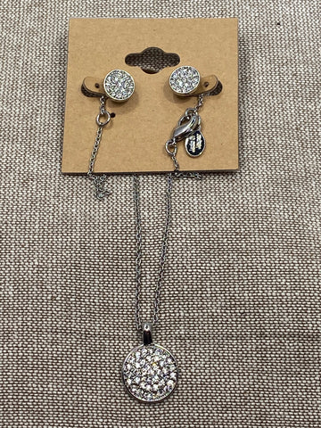Pave Crystal Set