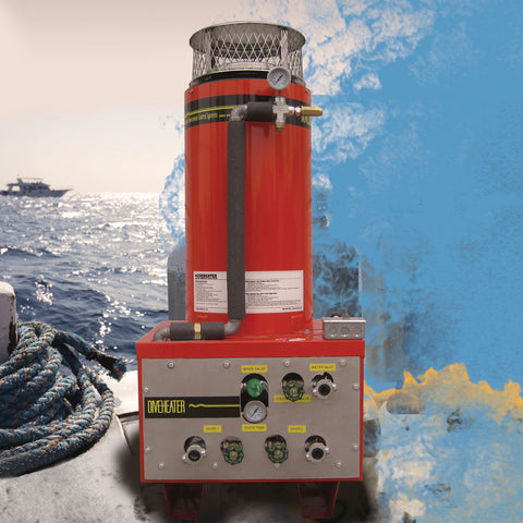 Diesel/Oil Fired Portable Dive Heater