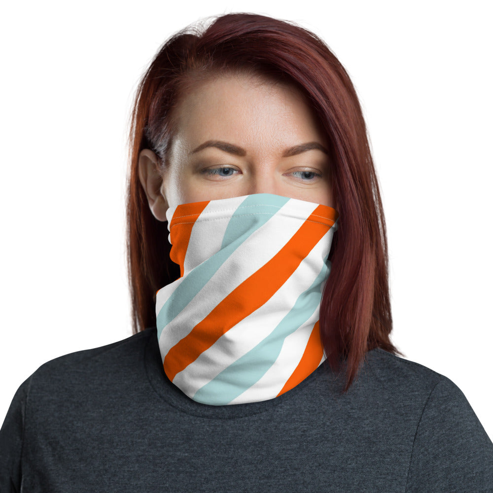 Mask - Orange Stripe