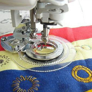 Flower Stitch Round Stitch Presser Foot-Embroidery-Foot