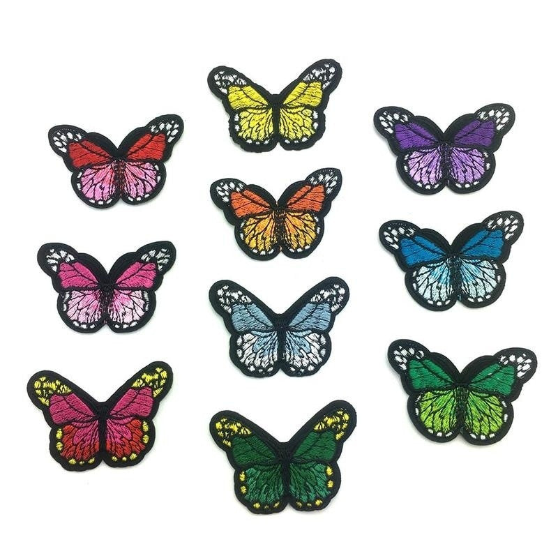 Butterfly Embroidery Applique Patches