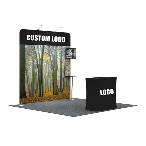Portable Fabric Backdrop Pipe and Drape Exhibit