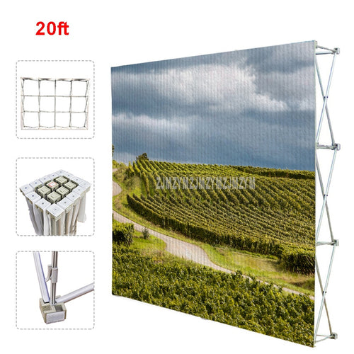 Poster Retractable Backdrop Display Stand