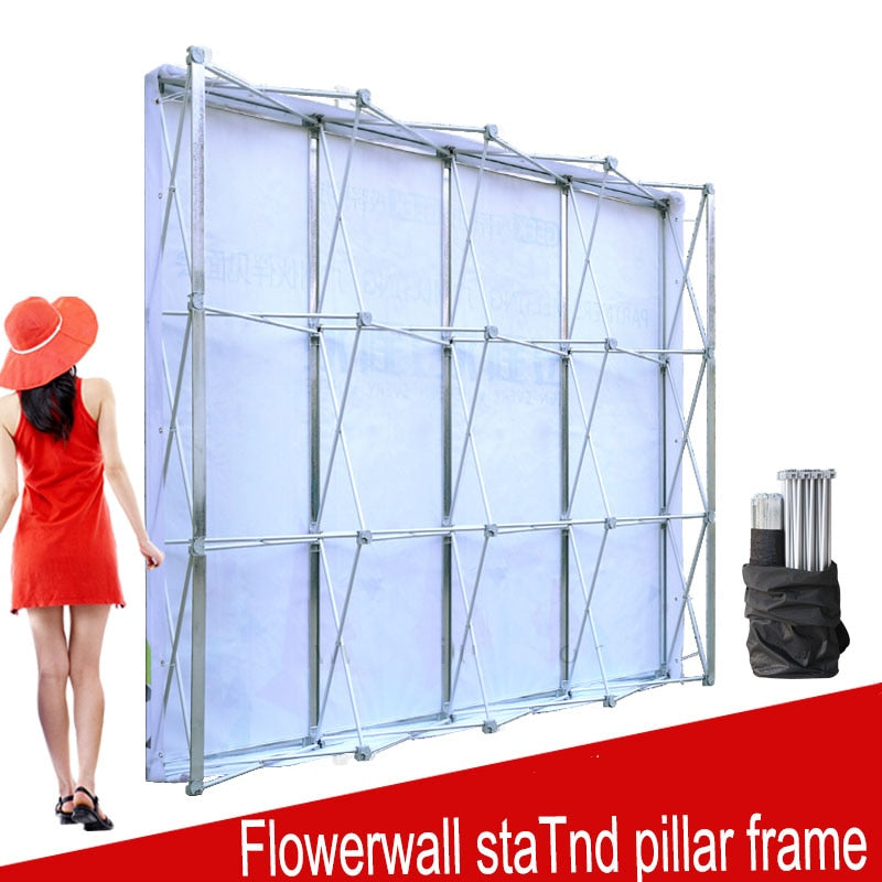 Aluminum Flower Wall Folding Stand Frame Backdrop