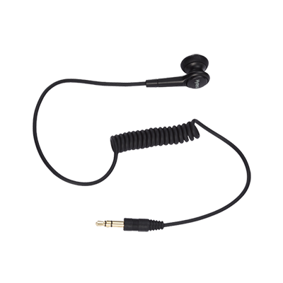 Hytera PD705LT Earbud without Earpiece (Receive-Only)