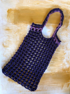 MEDIUM CROCHET NET TOTE