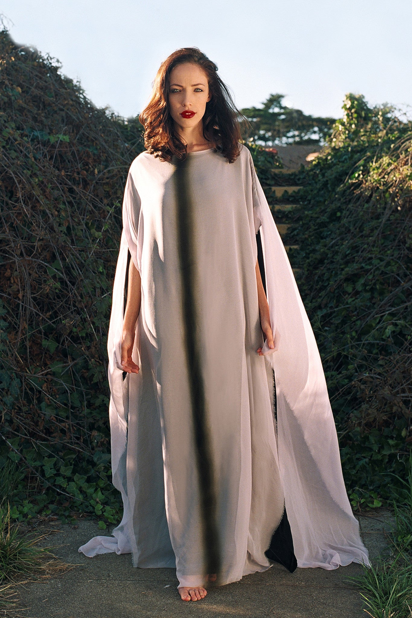BALSA CAPED GOWN