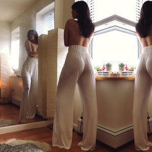 CREME DREAM TROUSER