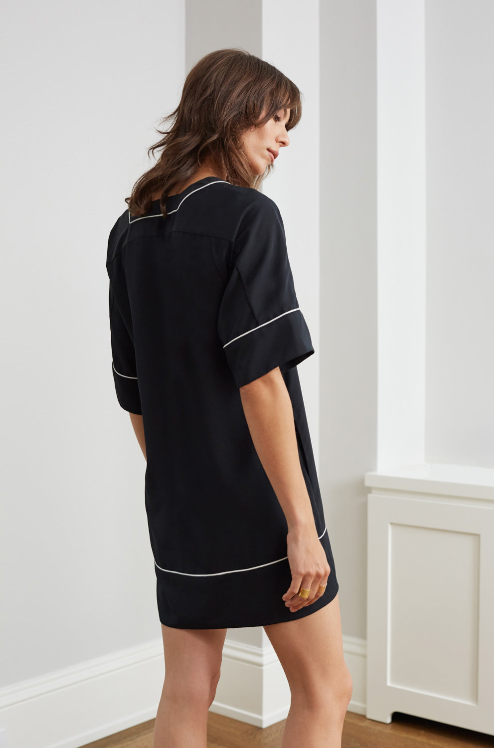 ATLANTIC TUNIC BLACK