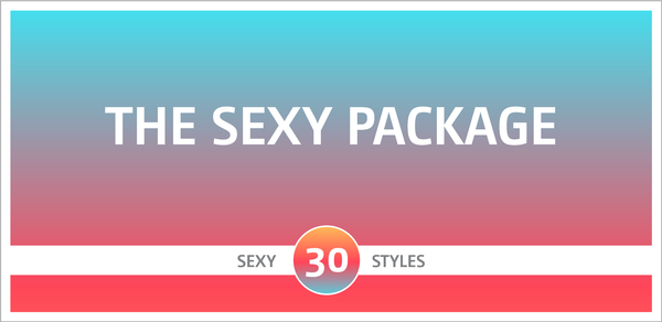 The Sexy Fonts Package
