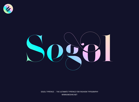 Segol Typeface - Sexy font for fashion