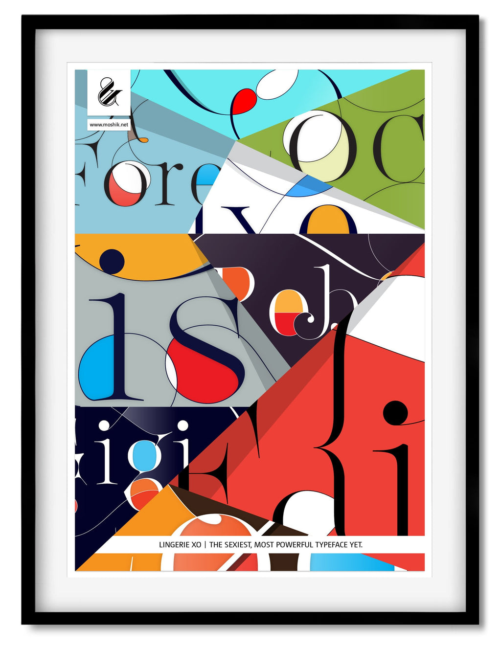 Buy this Amazing poster to decorate your New York studio by Moshik Nadav Typography