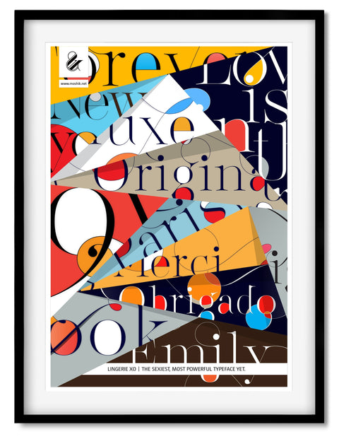 Buy this Amazing posters to decorate your New York studio by Moshik Nadav Typography