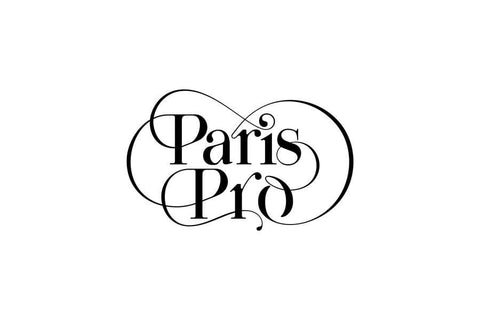 Paris Pro Typeface - Moshik Nadav Fashion Typography