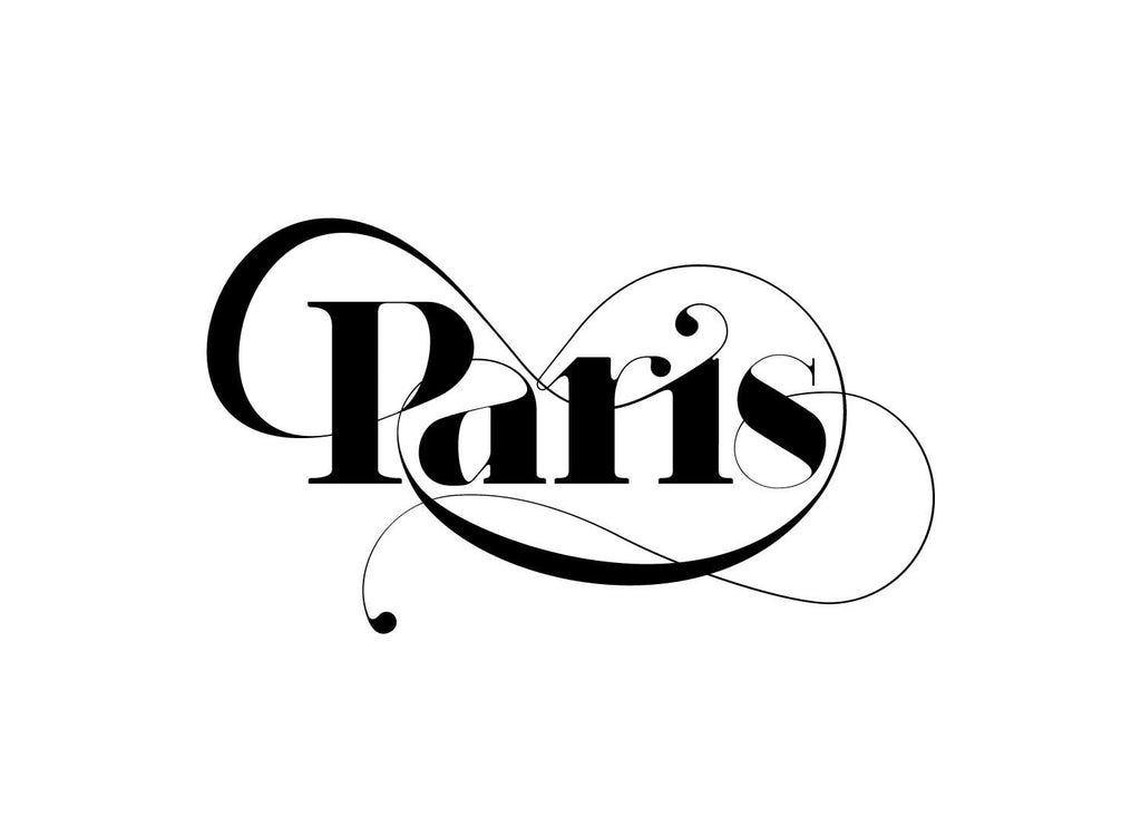 Paris Typeface - Moshik Nadav Fashion Typography