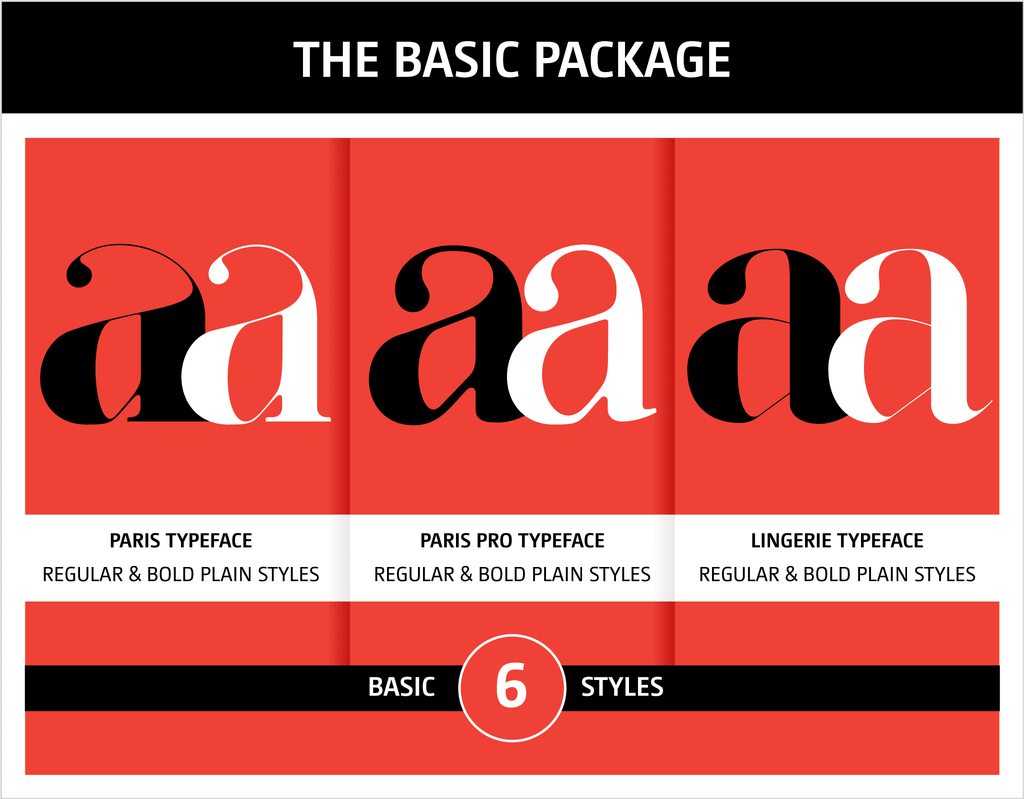 Moshik Nadav Typography Fonts Packages