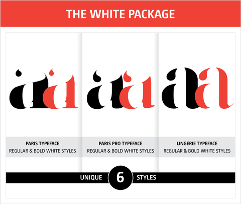 Moshik Nadav Fashion Typography Fonts Packages