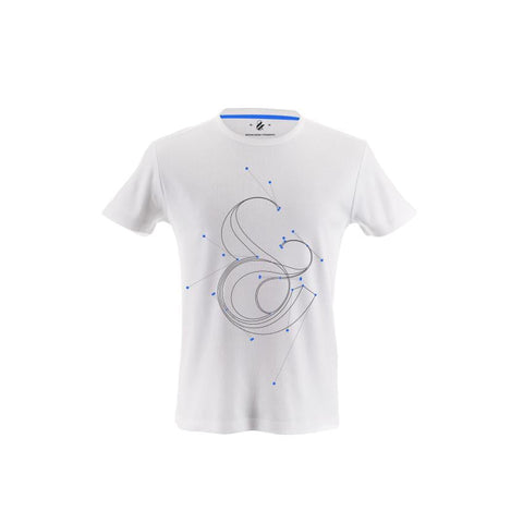 Custom Ampersand Typography T-shirt Designed by Moshik Nadav Typography