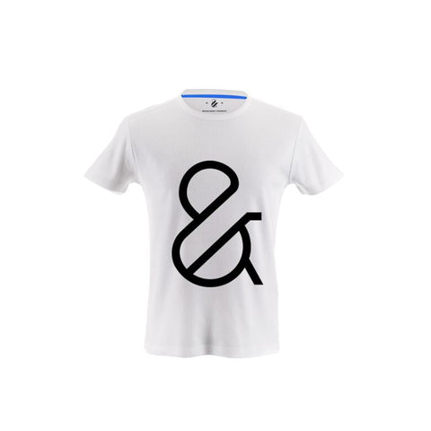 Light Ampersand T-shirt Designed by Moshik Nadav Typography with Paris Pro Typeface