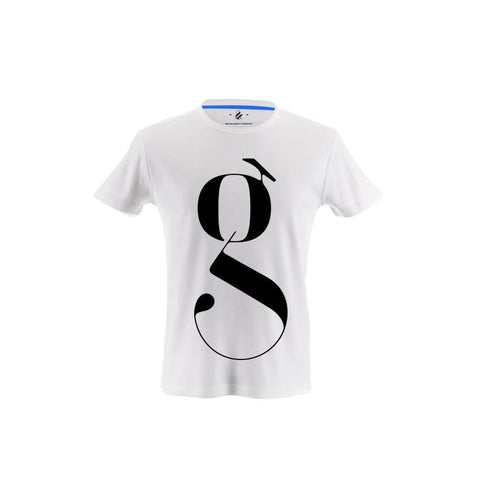 Lowercase g Typography T-shirt Designed by Moshik Nadav