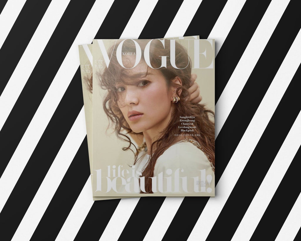 Lingerie Typeface is in use by Vogue magazine