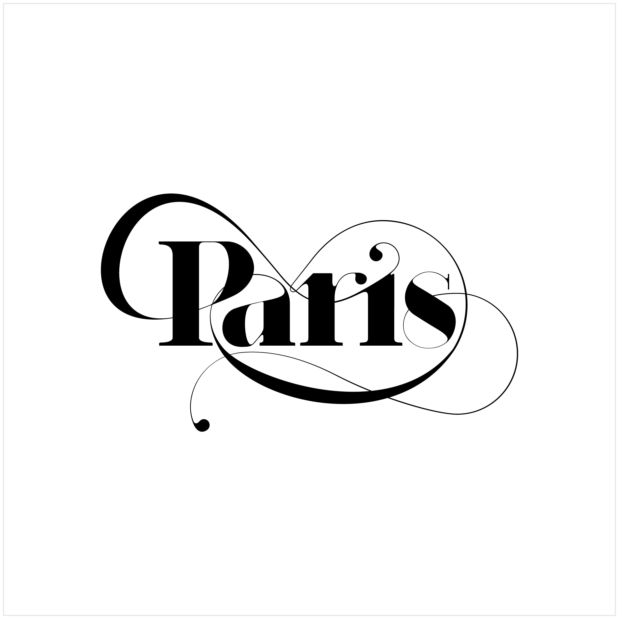 Buy Paris Typeface by Moshik Nadav Fashion Typography