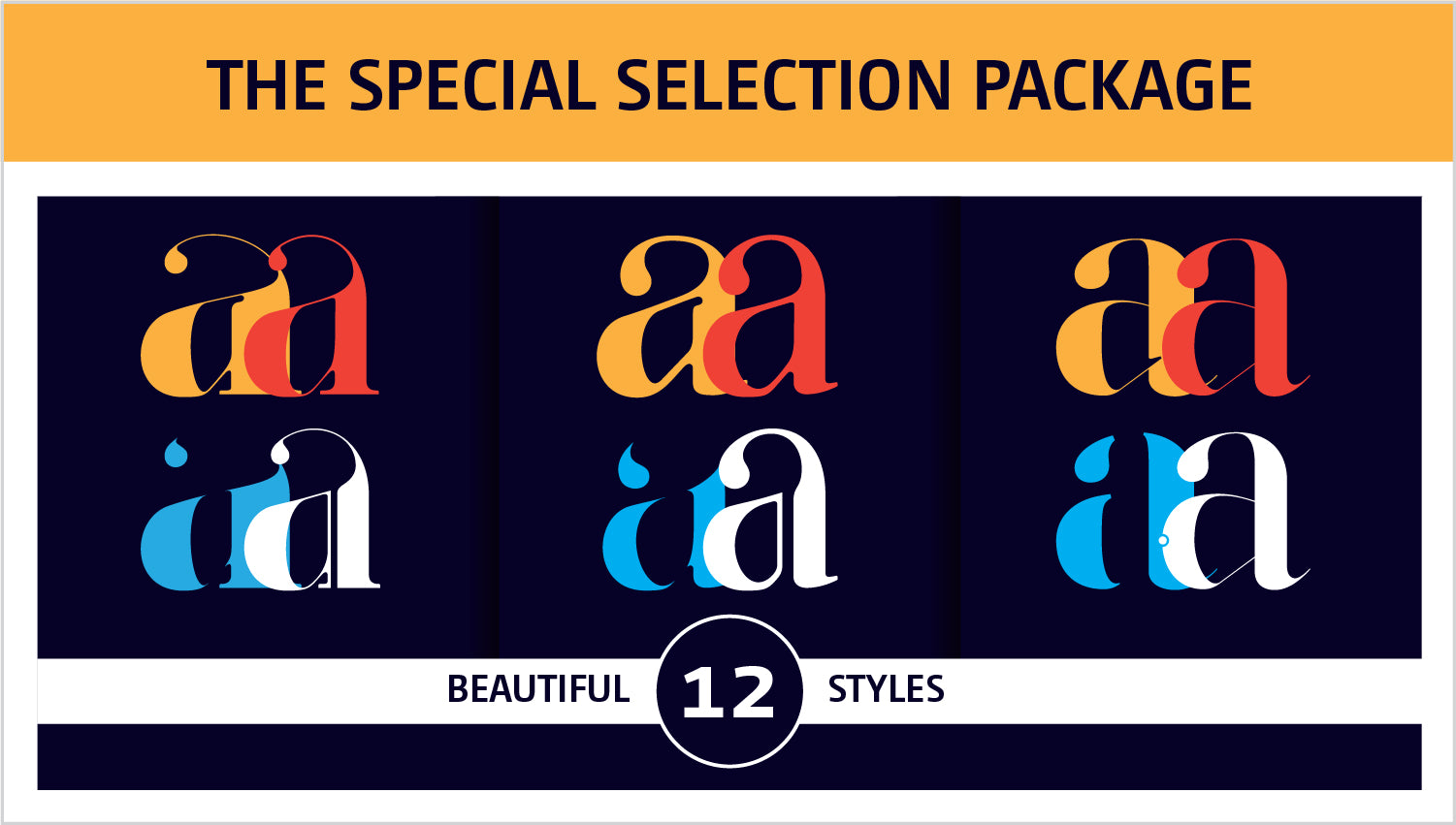The Special Selection Fashion Fonts Package by Moshik Nadav Typography NYC