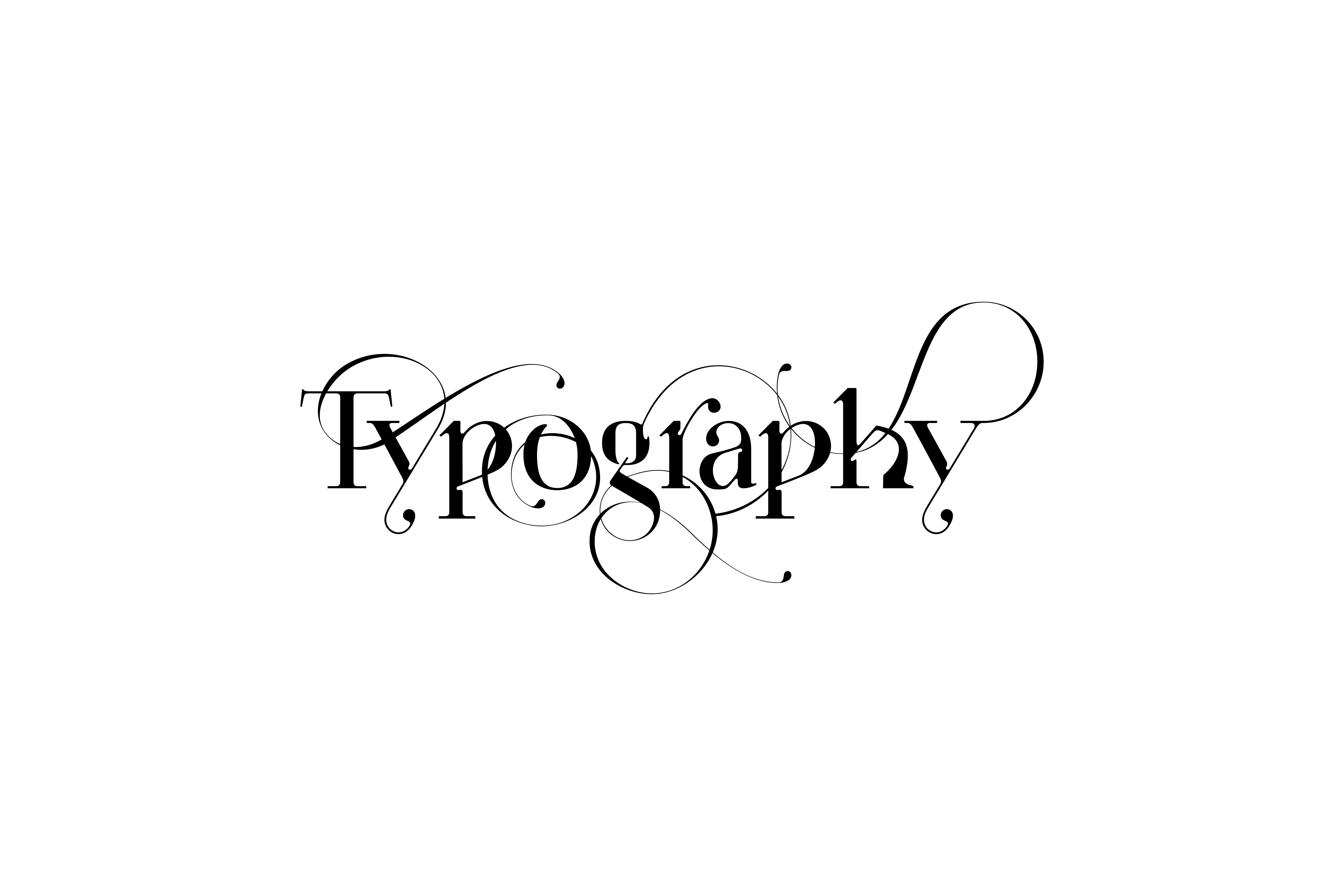 Custom Typography collection by Moshik Nadav Typography