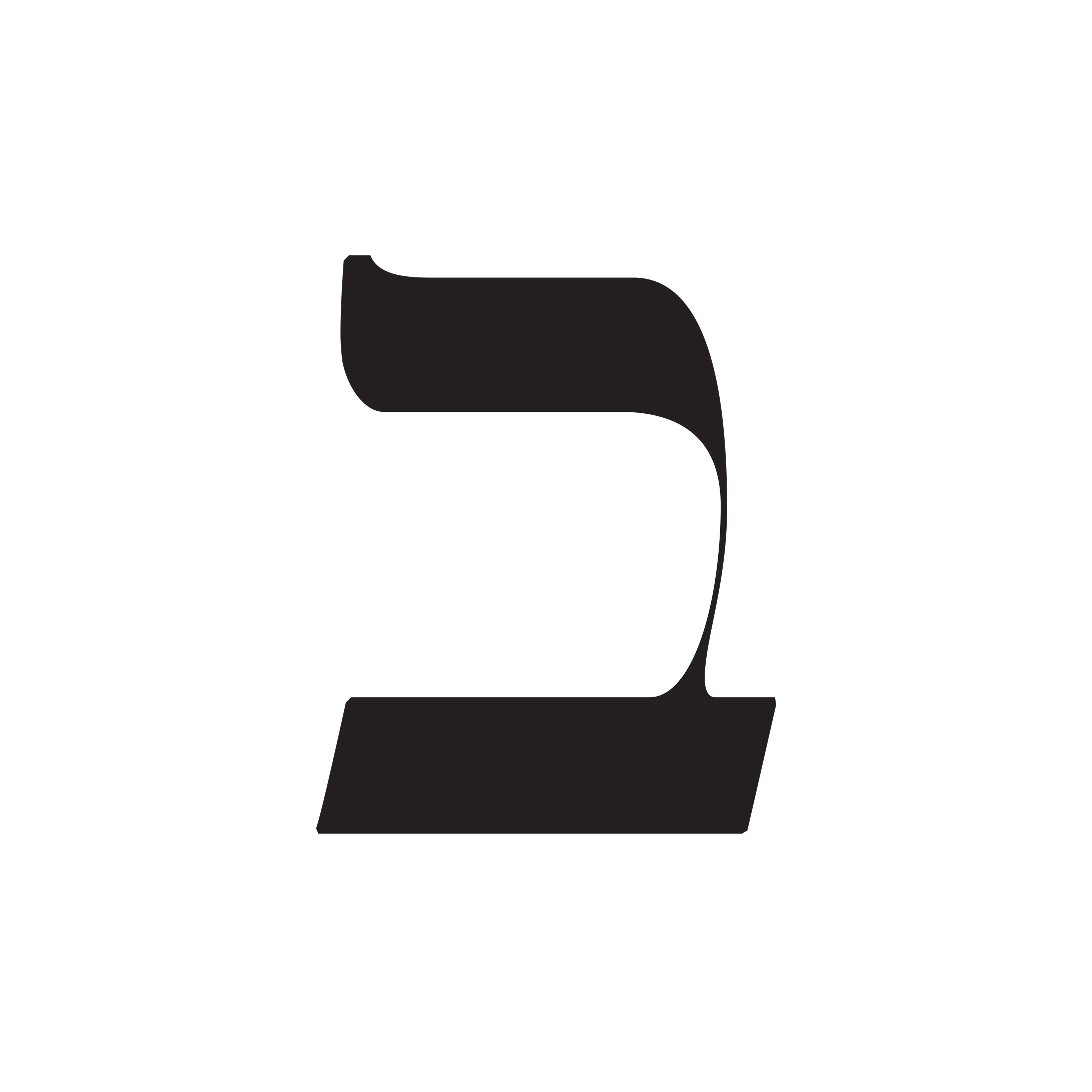 Moshik Hebrew Typeface | Moshik Nadav Fashion Typography and