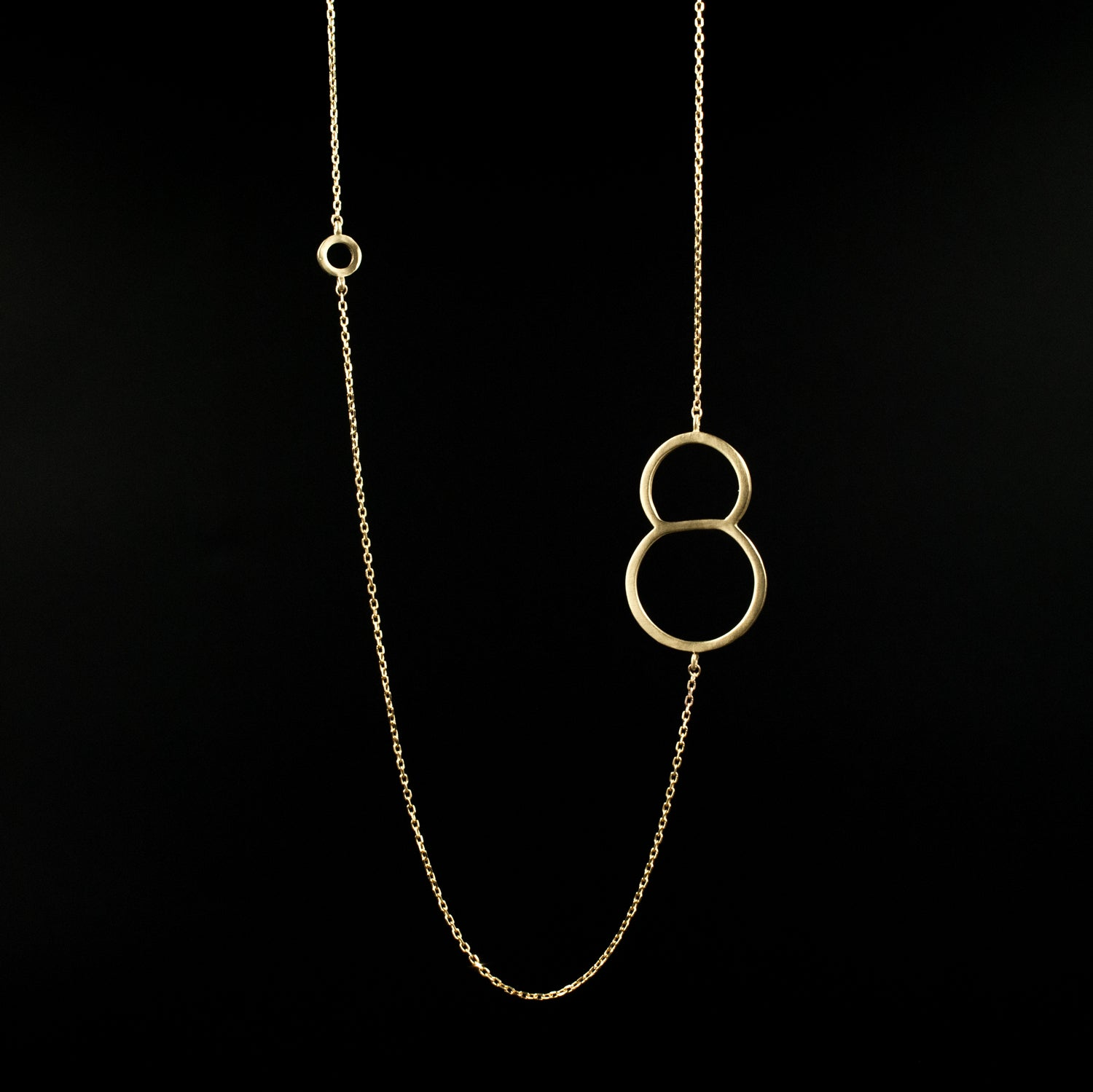 Sexy Eight Necklace - Designed by Moshik Nadav Fashion Typography